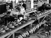Zavedenie pásovej výroby el. ručného náradia